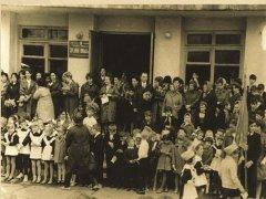 Школа № 8 на улице Горького 1967 г.